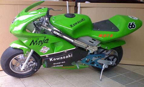 kawasaki-mini-bikes Images - Frompo - 1