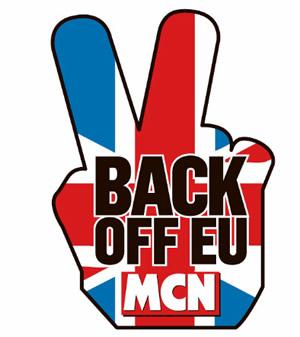 mcn, european union, steve baker, back off eu, motorcycle regulations